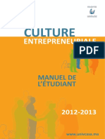 Manuel Culture Entrepreneuriale FR