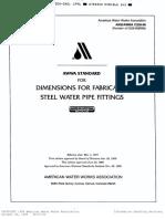 AWWA C208 - Fabricated steel pipe fittings.pdf