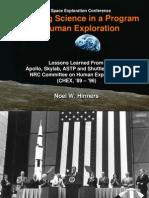 NASA 164278main 2nd exp conf 19 ScienceAndExploration DrNHinners