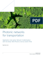 Nokia Photonic Networks Transportation en Application Note