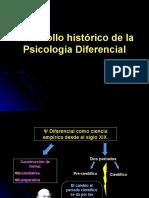 Desarrollo Histrico de La Psicologa Diferencial