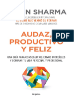Audaz Productivo y Feliz-Robin Sharma