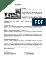 Conflicto Armado en El Salvador