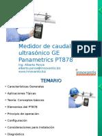 Medidor de Caudal Ultrasónico Panametrics PT878 (2010)