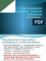LAPORAN HASIL STUDY BANDING PKM  SEMEMI SURABAYA.pptx