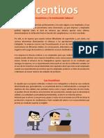 1.-Los Incentivos y La Motivación Laboral