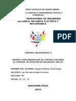 Proyecto Control Balancin PID