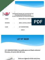 CLASE  LEY UNIVERSITARIA - ESC. TM 2017-1.pptx