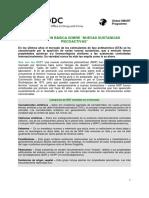 NPS Factsheet Spanish