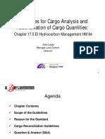 Marine Measurement Cargo Reconciliation - API Singapore 2012