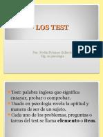 Diseño y Elaboración de Test