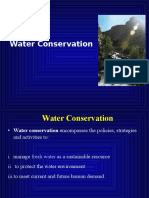 Lecture 10 Water Conservation