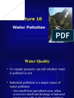 Lecture 9 Water Pollution