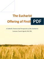 The Eucharist as Offering of Firstfruits