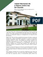 La Universidad Nacional de Cajamarca Figura Entre Las Mejores Del Mundo