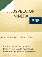 PROSPECCIÓN MINERA