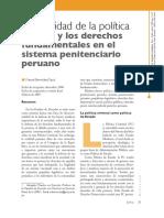 06. Artículo. La Fragilidad de La Política Criminal... Manuel Bermúdez