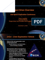 NASA 164294main 2nd exp conf 29 ConstellationElements ProjectOrionOverview CLacefield