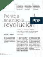 Frente a Una Nueva Revolución - Drucker