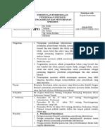 8.1.2 Ep 1 Sop Permintaan Pemeriksaan, Penerimaan Spesimen, Pengambilan Dan Penyimpanan Spesimen