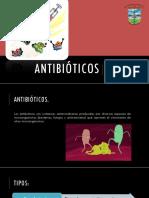 Antibioticos. Aminoglucosidos. Chiñas Nuñez Miriam Ivon