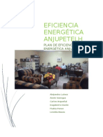 Último Plan de Eficiencia Energética ANJUPETELH 2016 Último