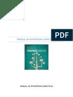 Revisión y Análisis del Manual de Estrategias Didácticas