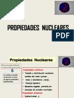 1 CLASE 2 P N. Radio Masa de Nucleos y Abund