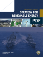 Strategy for Renewable Energy