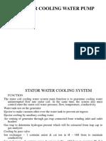 Stator Cooling Pump