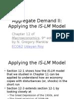 Ch11 Aggregate Demand I