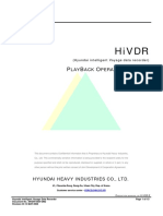 HiVDR PlayBack Operation Manual Rev03