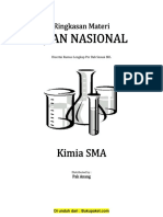 Ringkasan Materi UN Kimia SMA