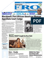 Baltimore Afro-American Newspaper, July 31, 2010