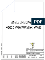 SLD 3.3 Kv Raw Water Swgr 9548-205-PVE-P-020-01