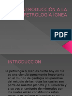 Introduccion a La Petrologia Ignea