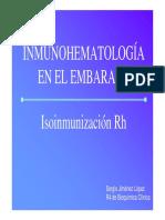 Uap Isoinmunizacion RH