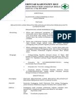 97. Penanggung Jawab Pemantau Pelaksanaan Kegiatan Perbaikan Mutu Layanan Klinis