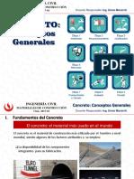 Concreto Conceptos Generales