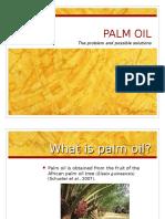 Palm Oil Presentation