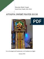 Ayyappa Prayer Book
