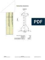 Prestressed Beam With Coordinates by David Childs