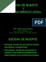 11. ESCENA DE MUERTE Y AUTOPSIA MÉDICO LEGAL- VARELA.ppt