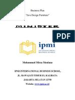 Business Plan Furniture International