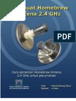 Merakit Homebrew Antena 2.4 GHz