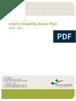 Interim Disability Action Plan 2015-2017