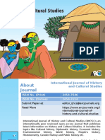 International Journal of History and Cultural Studies - ARC Journals