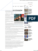 20131020 China and the Art of (Losing) War, GlobalPost