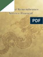 Ancestral Remembrance Service Protocol