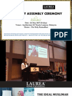 Laurea Malaysia - Knowledge Sharing Session 2017
